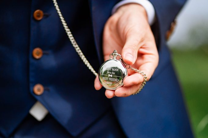 groomsman pocket watch