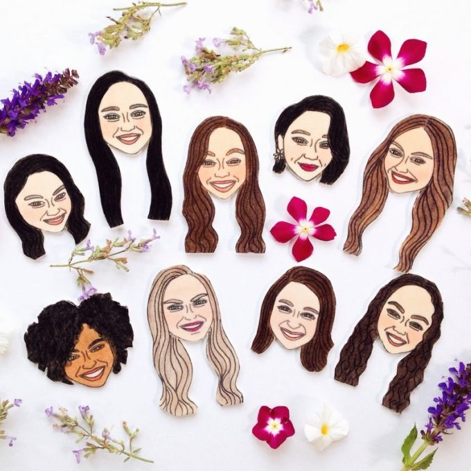 bridemaid magnets