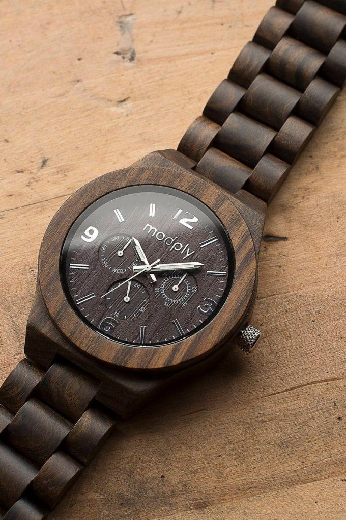 engraved groom watch