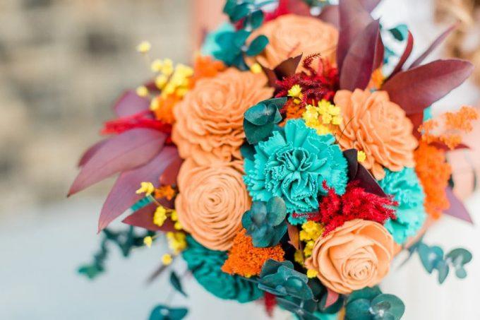 sola wedding bouquet
