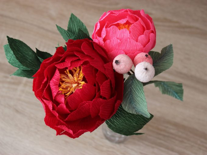 paper flower centerpieces
