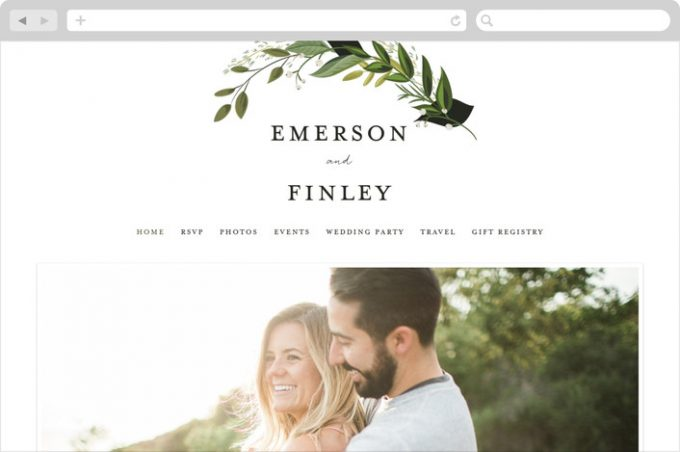 best wedding website | design by susanmoyal