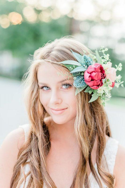 sola flower hair accessory