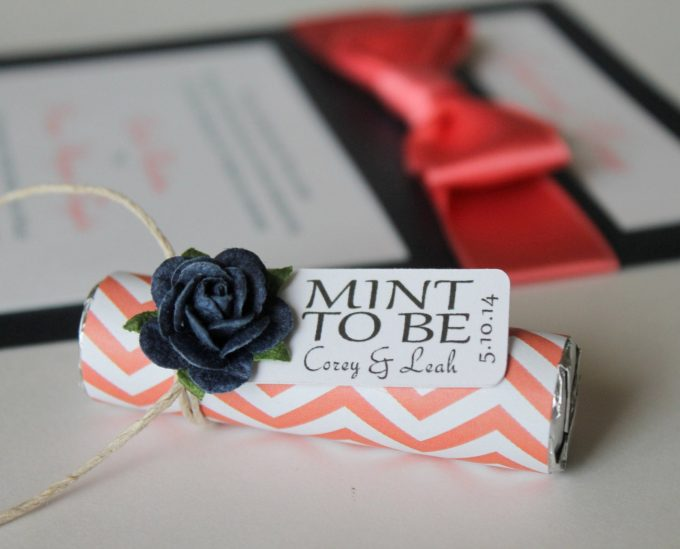 mint to be favors