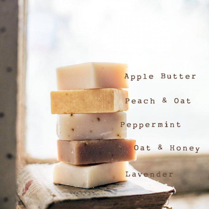 handmade soap favors scents