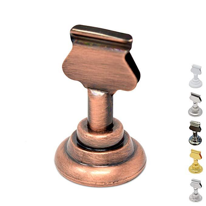 metal table number holders