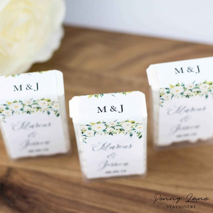 printable wedding favor tags