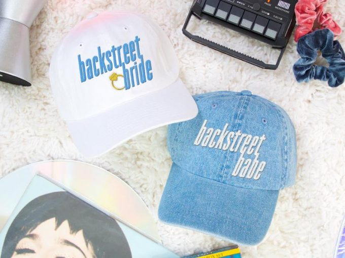 90s bachelorette party hats by bachette