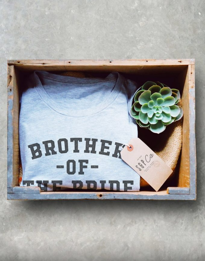 brother of the bride tshirt