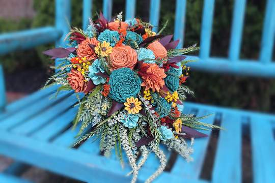 how to make a sola bouquet