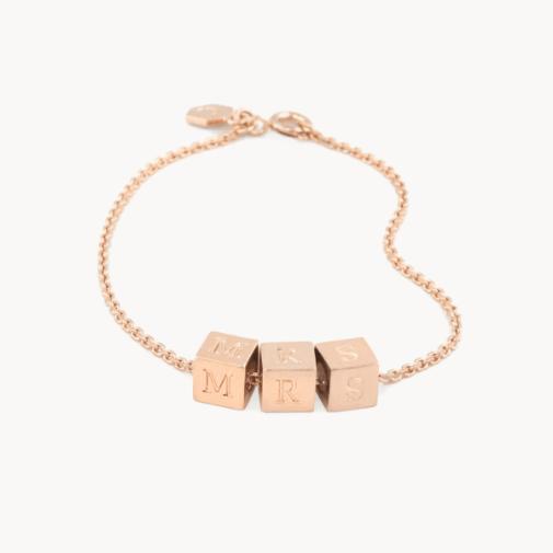 mrs block bracelet