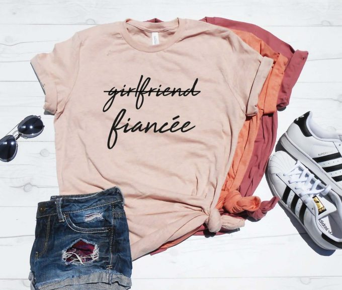 girlfriend fiancee tshirt
