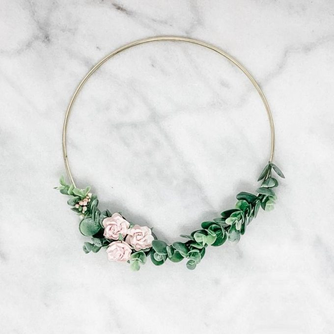 flower girl hoop