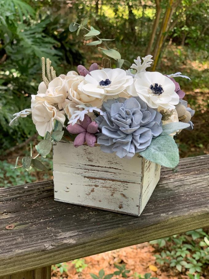 box centerpiece