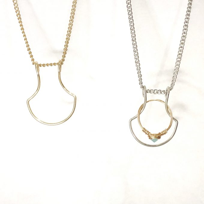 ring holder necklace