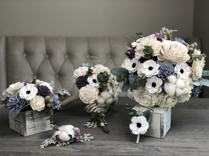 rustic box centerpiece ideas