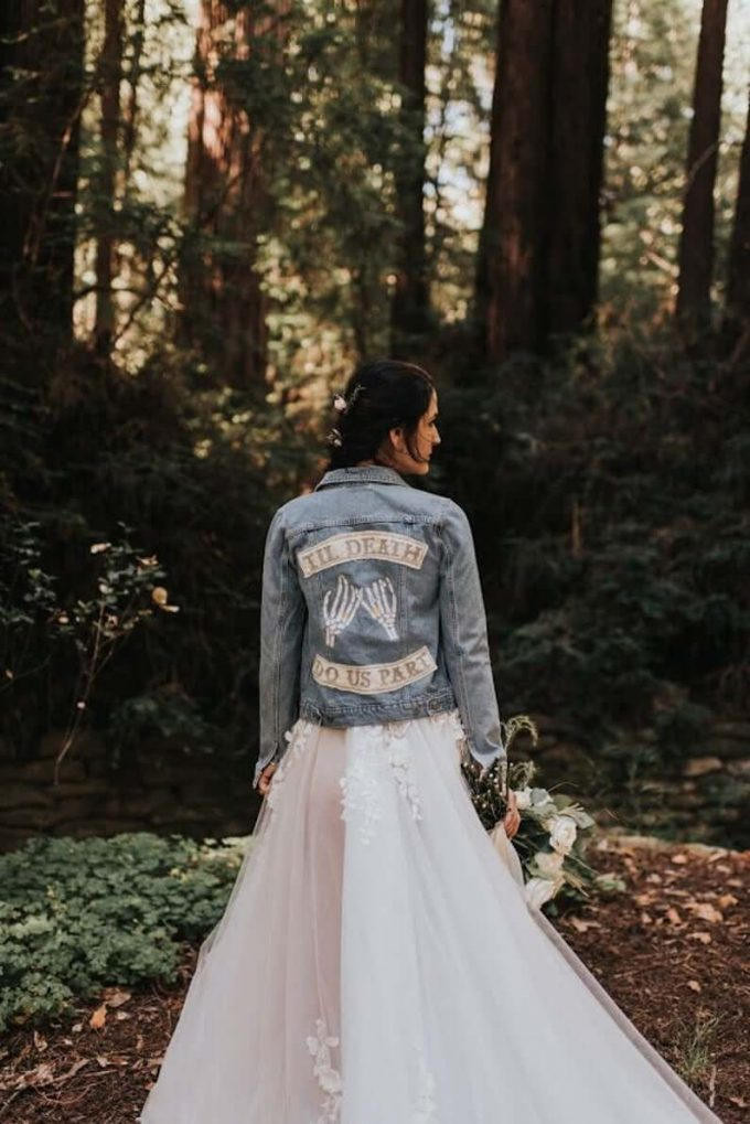till death wedding jacket
