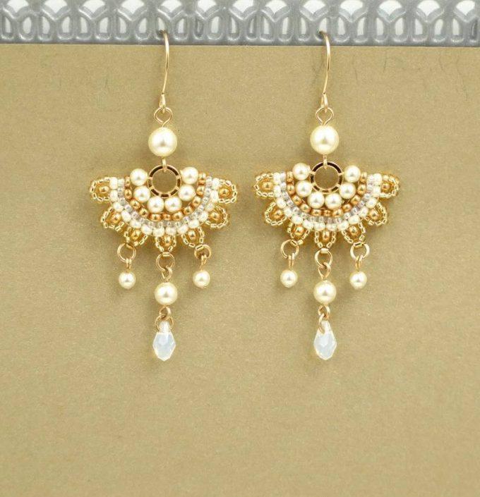 beaded wedding jewelry