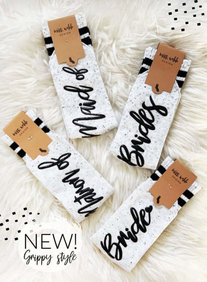 bridesmaid socks