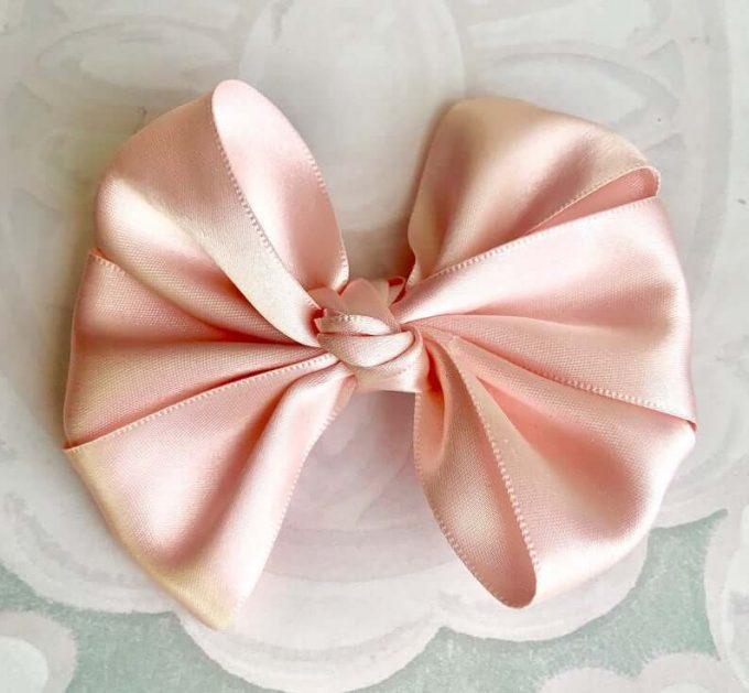 flower girl hair bow