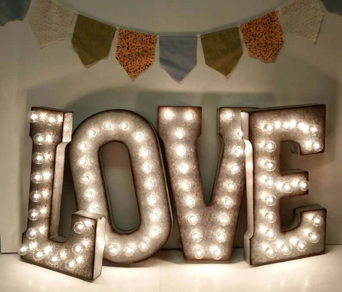 buy large marquee letters