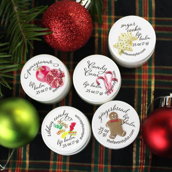 holiday lip balms