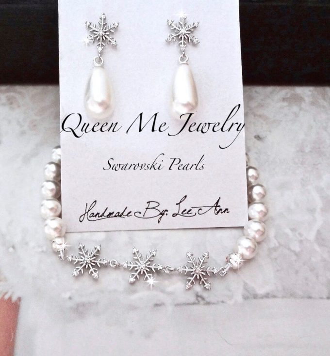 snowflake wedding jewelry