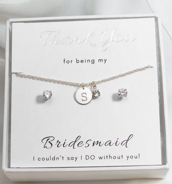 beautiful bridesmaid jewelry set