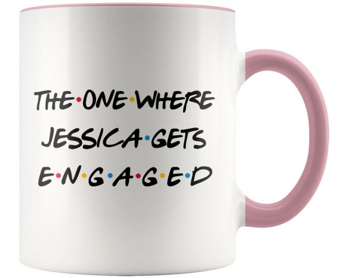 newly engaged mugs
