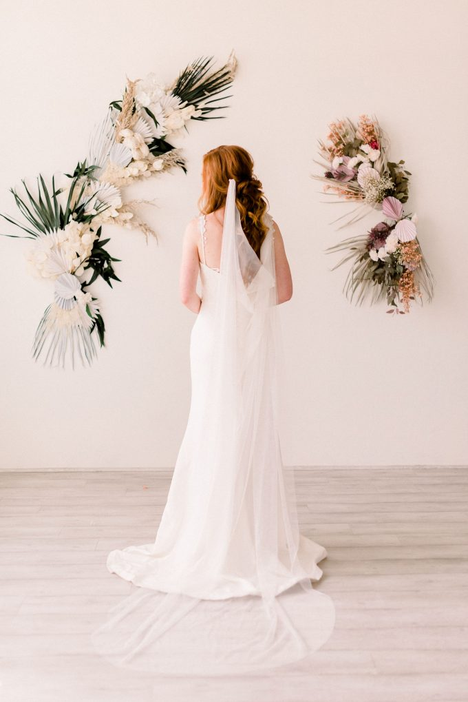 English Net Draped Veil