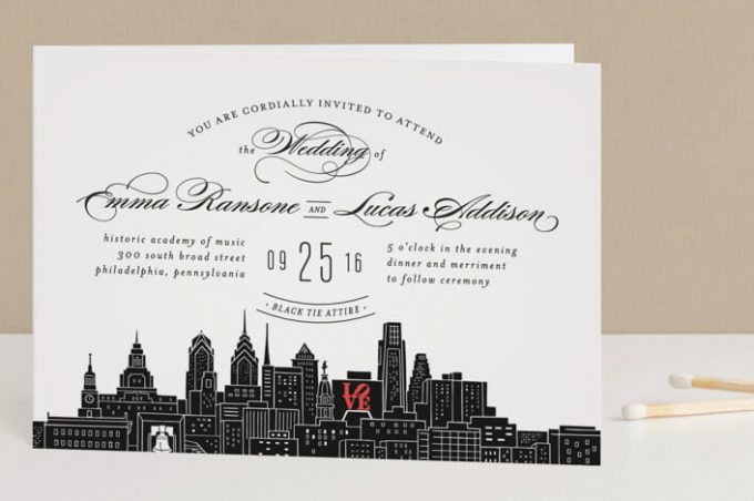 philadelphia themed wedding