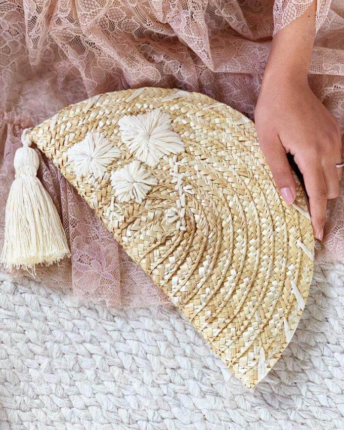 beach wedding clutches