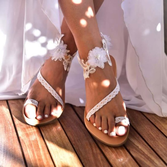 What Sandals To Wear A Beach Wedding