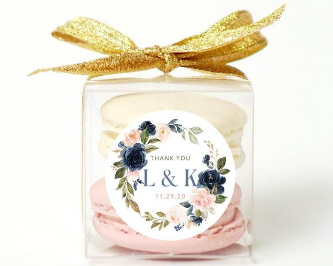 spring wedding favors - cookies