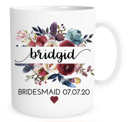 be my bridesmaid coffee mugs