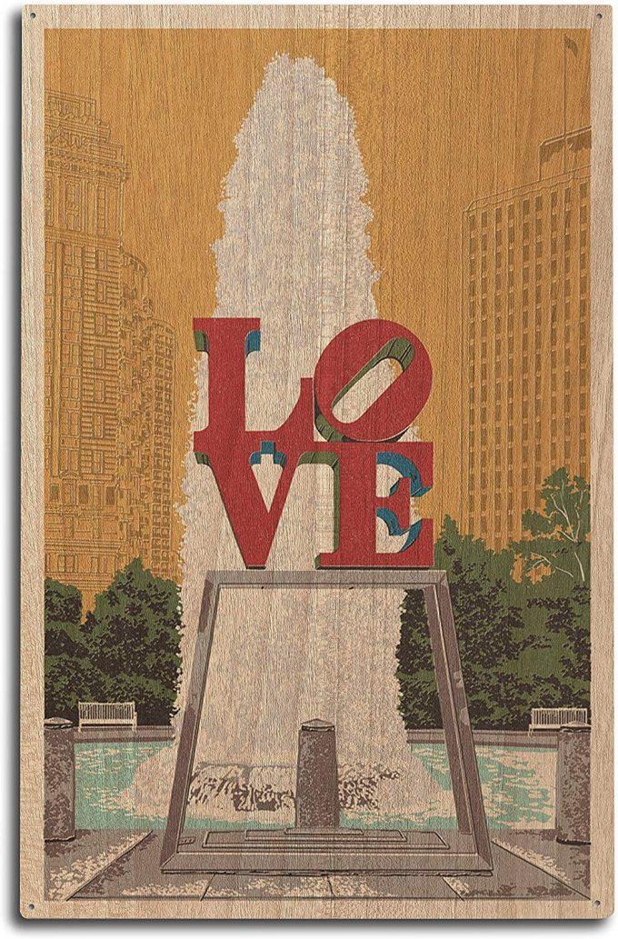 philadelphia wedding poster