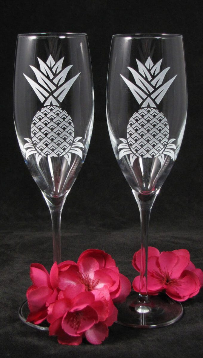 pineapple flutes