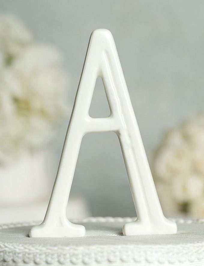 minimalist cake toppers