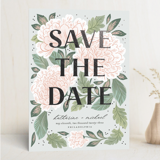 save the date without photo