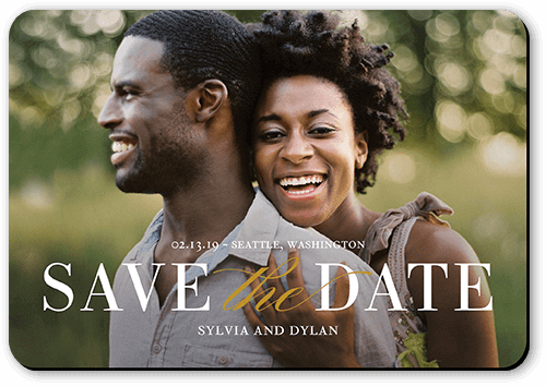 get the best save the date magnets with photo and free envelopes