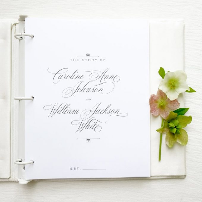 keepsake guest book