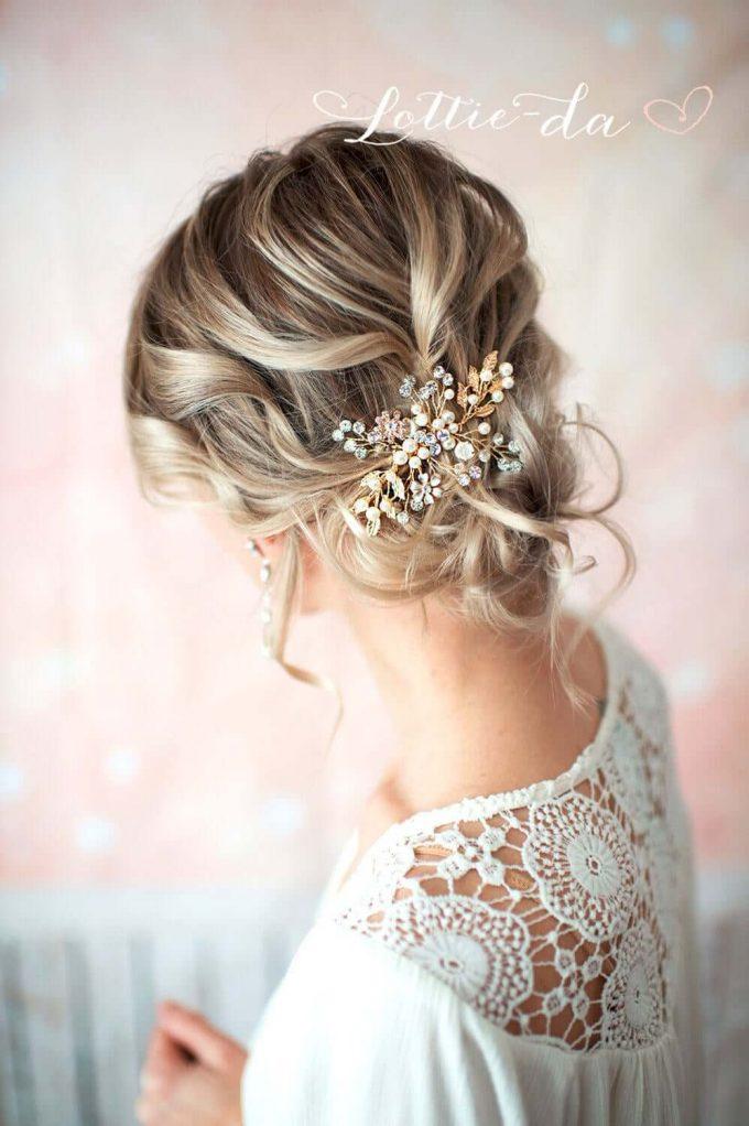 wedding hair combs