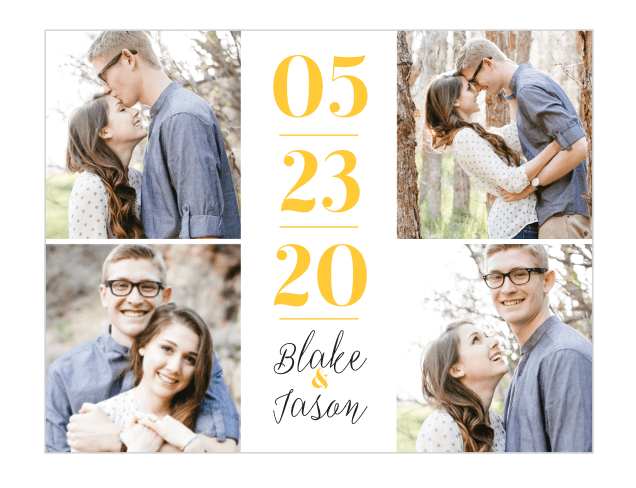 save the date magnets affordable