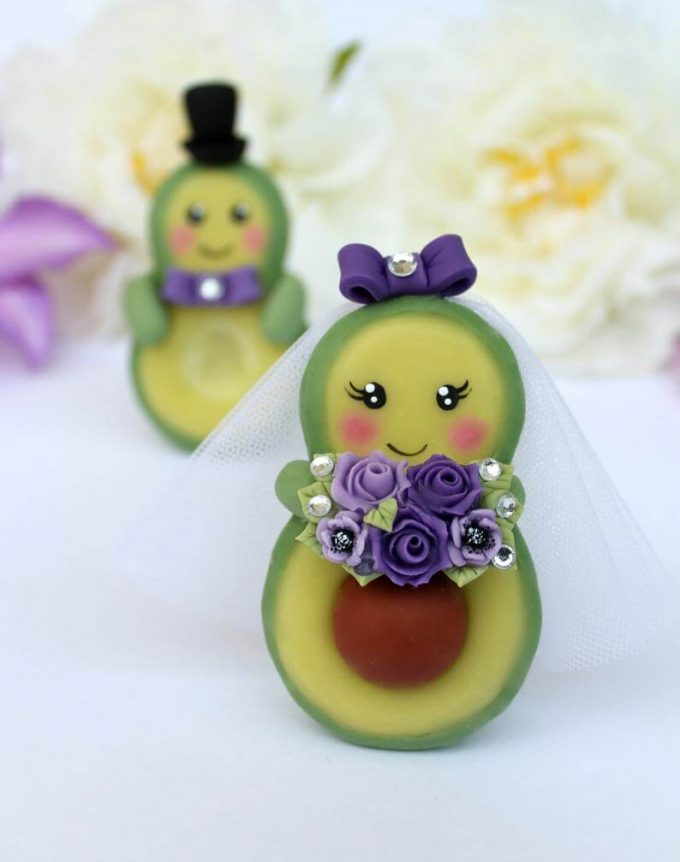 cute wedding cake toppers