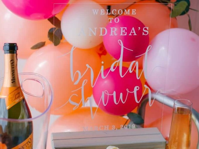 flamingo bridal shower