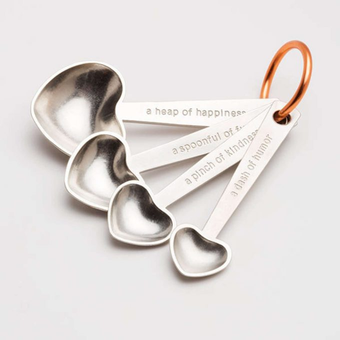 measuring spoons via etsy wedding registry