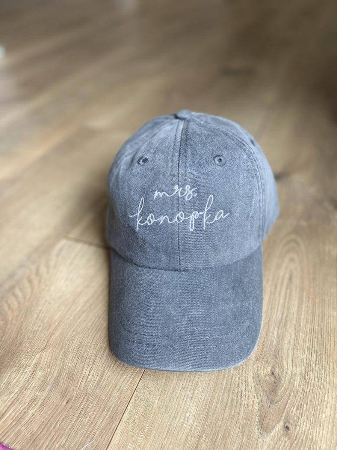 mrs baseball cap