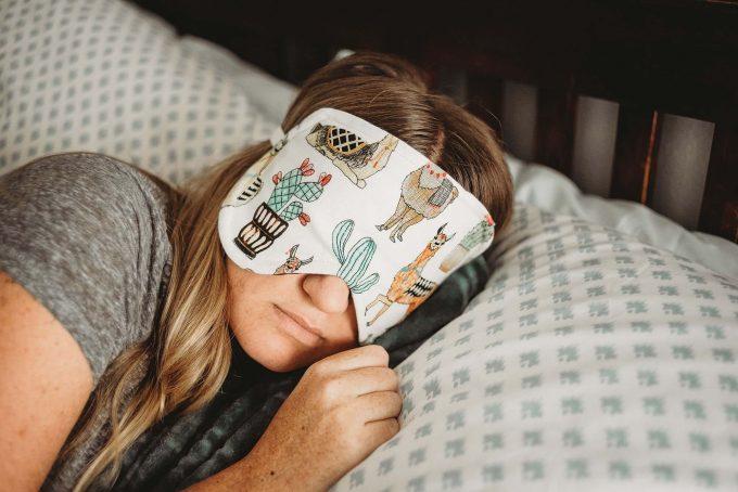 oversized sleep mask