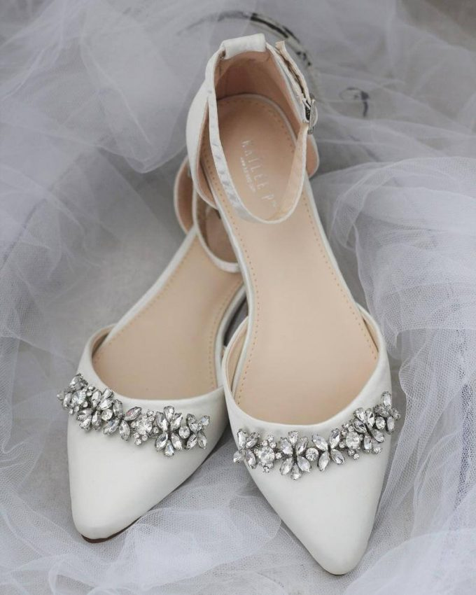 bridal accessories list - shoes
