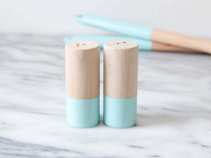 salt and pepper shakers via etsy wedding registry